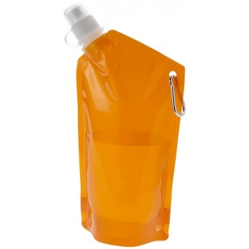 Cabo 600 ml water bag with carabiner10025002