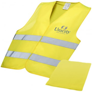 Watch-out professional safety vest in pouch10401000