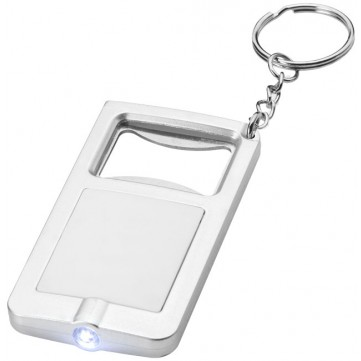 Orcus LED keychain light and bottle opener10416200