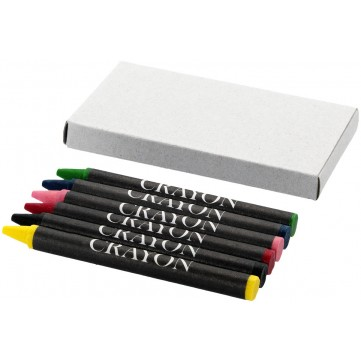 Ayo 6-piece coloured crayon set10617100