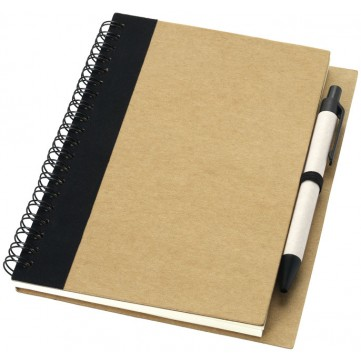Priestly recycled notebook with pen10626801