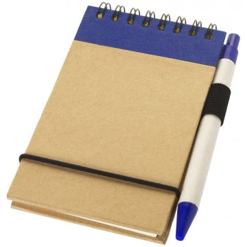 Zuse A7 recycled jotter notepad with pen106269-config