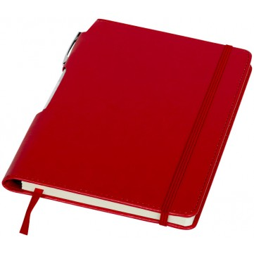 Panama A5 hard cover notebook with pen106796-config