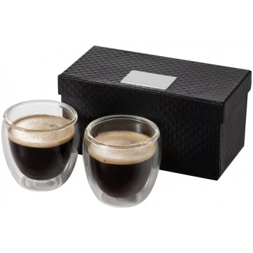 Boda 2-piece glass espresso cup set11251100