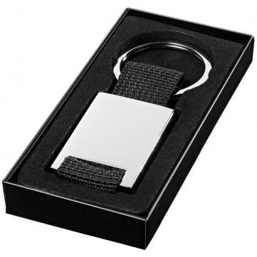 Pablo rectangular webbing keychain11802000