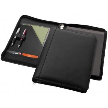 Harvard A4 leather zipper portfolio deluxe11916400