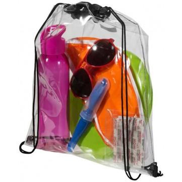 Lancaster transparent drawstring backpack120086-config