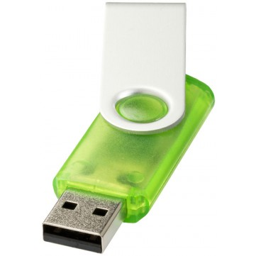 Rotate-translucent 4GB USB flash drive12351701