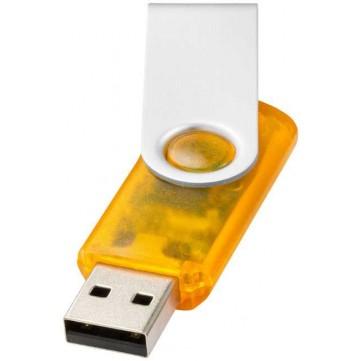 Rotate-translucent 4GB USB flash drive12351702