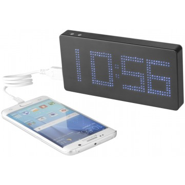 Clok 8000 mAh LED time display power bank123671-config