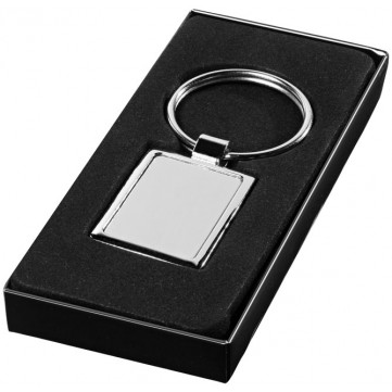 Sergio rectangular metal keychain19538050