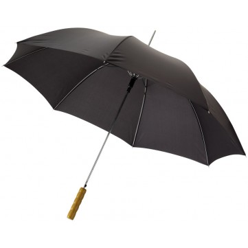 "Lisa 23"" automatic umbrella with wooden handle19547903"
