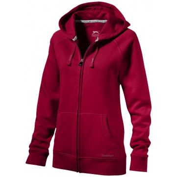 Race hooded full zip ladies' sweater33221252