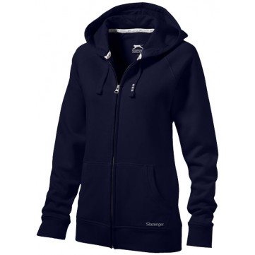 Race hooded full zip ladies' sweater33221493