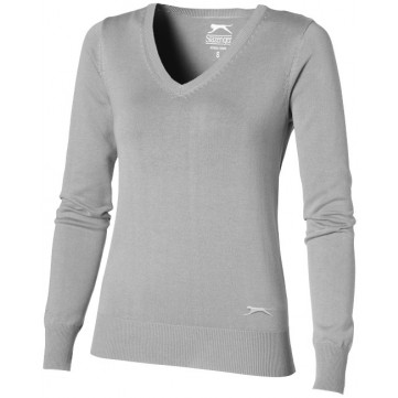 Tie breaker V-Neck Ladies Pullover33228901