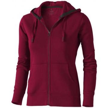Arora hooded full zip ladies sweater38212245