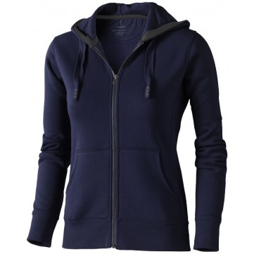 Arora hooded full zip ladies sweater38212490
