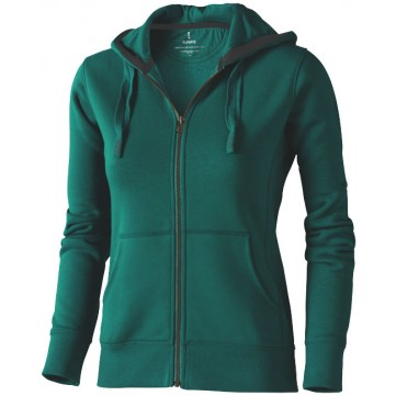 Arora hooded full zip ladies sweater38212600