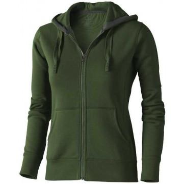 Arora hooded full zip ladies sweater38212703