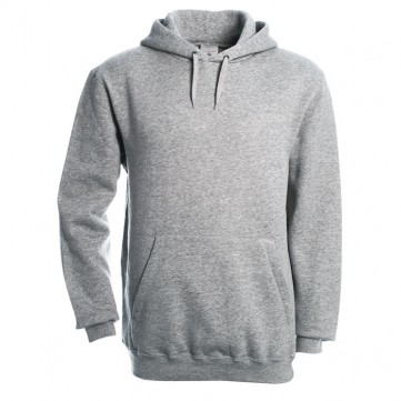 Hooded SweatshirtBC0276-GY-XL