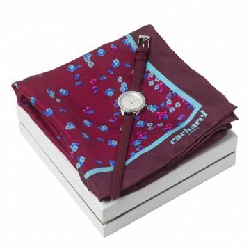 Set Cacharel (watch & silk scarf)CPMN835R