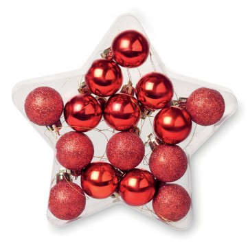 15 baubles in star shape CX1396-05CX1396-config