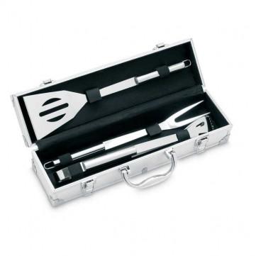 3 BBQ tools in aluminium caseIT3475-config
