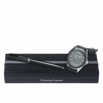 Set Rhombe (ballpoint pen & watch)LPBM418