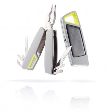 Tovo set solar torch & multitool greyP238.152
