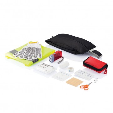 Standard car safety set, blackP239.251