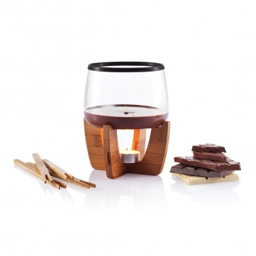 Cocoa chocolate fondue set, blackP263.201