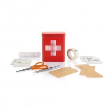 First aid tin box, redP265.034
