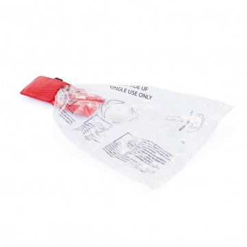 Keychain CPR mask, redP265.244