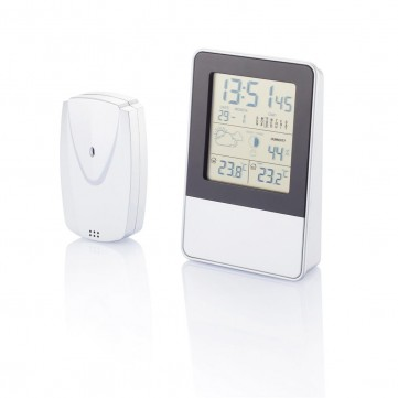 Indoor/outdoor weather station, silverP279.201