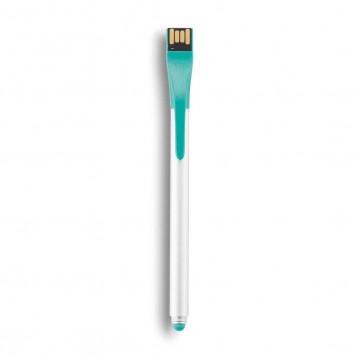 Point | 01 tech pen - stylus & USB 4GB, turquoiseP300.147