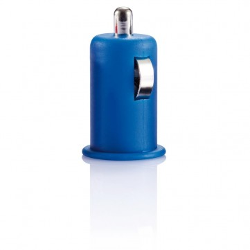 Micro car USB charger blueP300.435