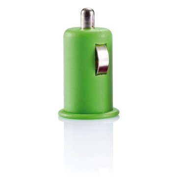 Micro car USB charger limeP300.437