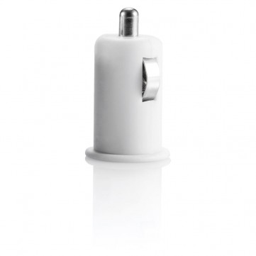 Micro car USB charger whiteP300.433