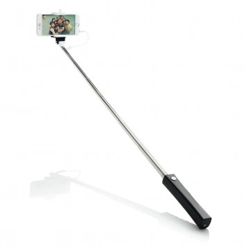 Selfie stick with wire, blackP301.54-config