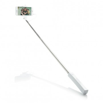 Selfie stick with wire, white/whiteP301.543