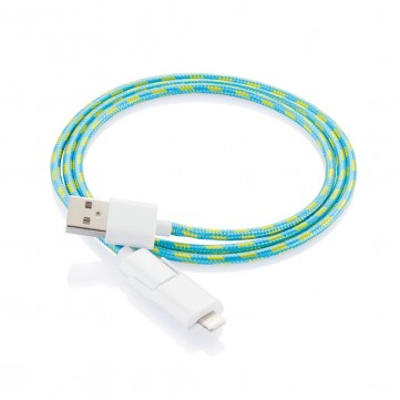 Fashion cable light blueP302.157