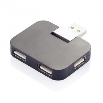 Travel USB hub, blackP308.751