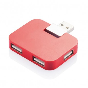 Travel USB hub, redP308.754