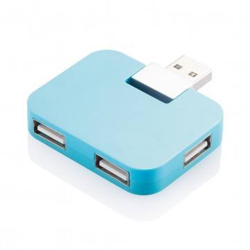 Travel USB hub, blueP308.755