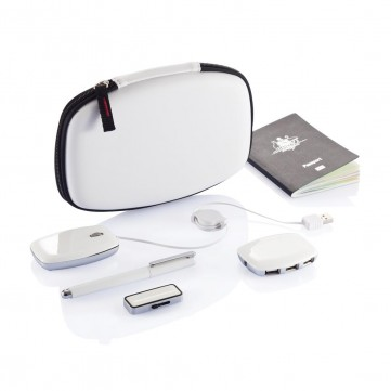 Folio travel set  - 4GB, white/silverP317.103