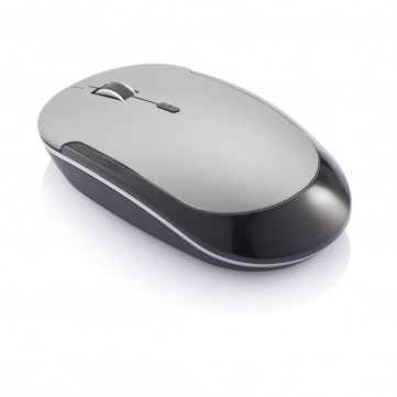 Slim 2.4GHz wireless mouse, greyP317.002