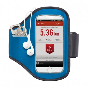 Universal phone sport armband, blueP320.195