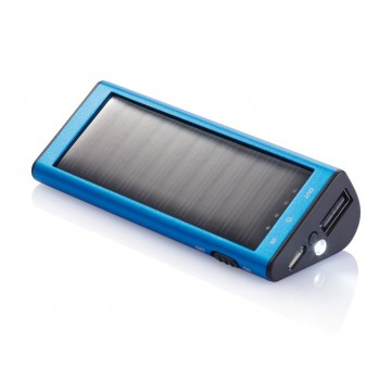 2.200 mAh solar powerbank, blueP323.155