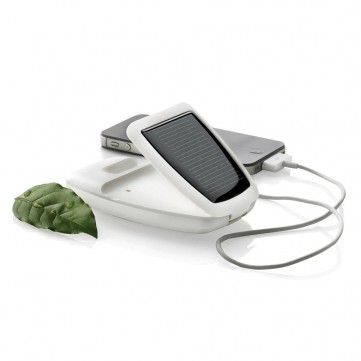 Tab solar charger stand 2.600mAh, whiteP323.203