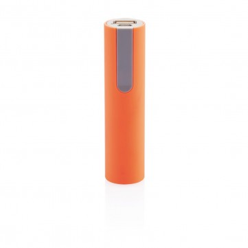 2.200 mAh powerbank, orange/greyP324.058